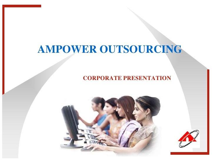 Ampower Corporate Presentation