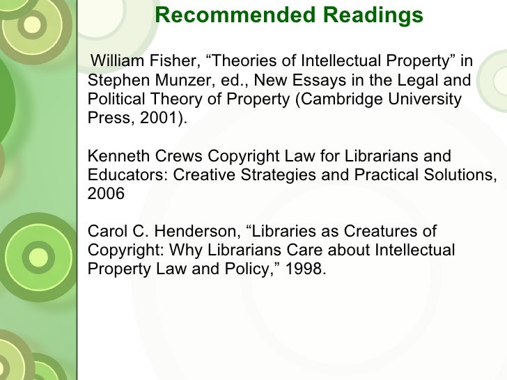 essays on copyright