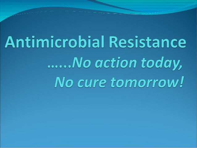 Anti Microbial Resistance (AMR)
