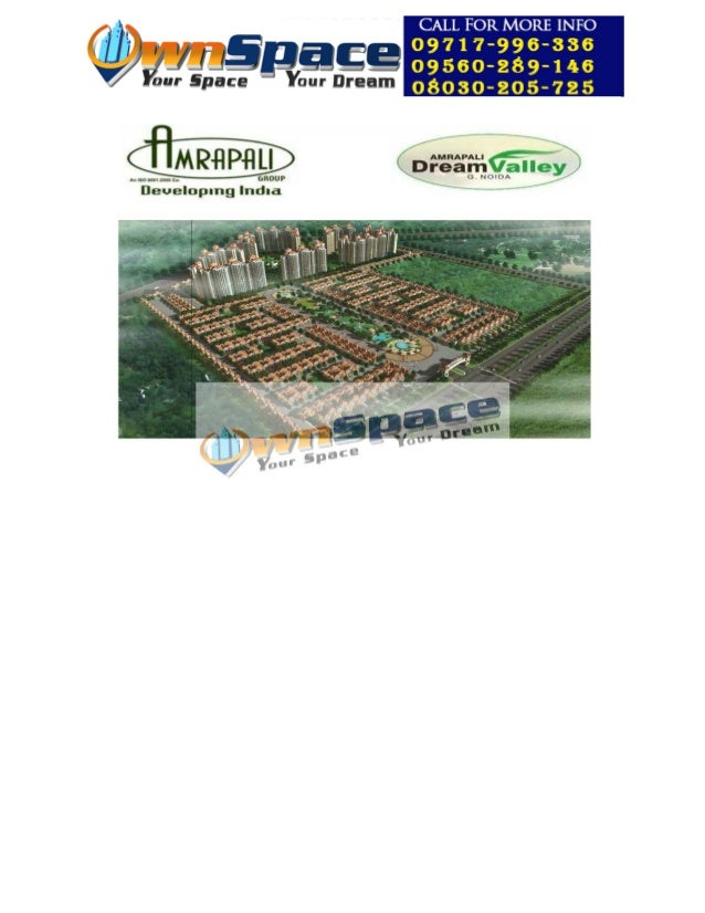 Amrapali dream valley noida extension Brouchure Price List Floor Plan ownspace