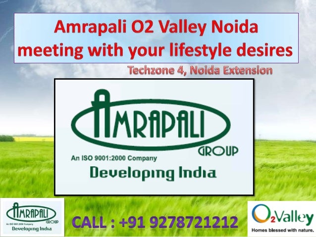 Amrapali O2 Valley : OVERVIEW  Amrapali Developer is known across realty market for being a leading and an knowledgeable r...