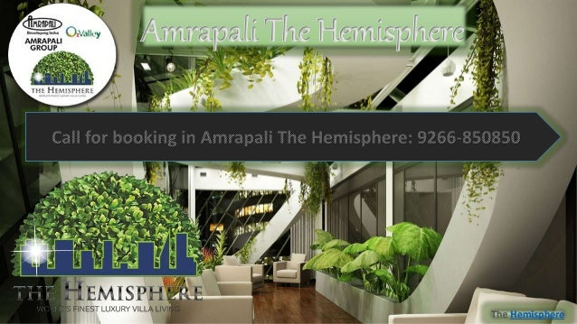 Luxurious Villas at Amrapali The Hemisphere in Noida