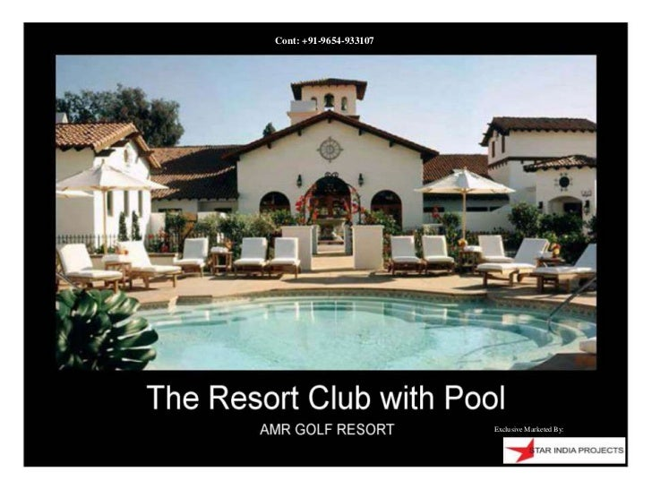 AMR Golf Resorts at Kotputli (Rajasthan) call at 9654933107