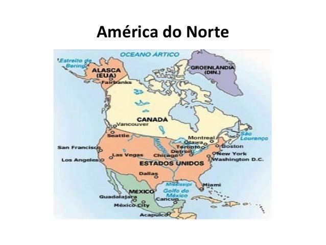 América do Norte 8º Ano