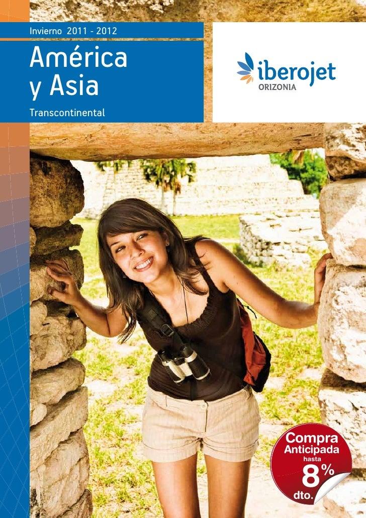 Catálogo Iberojet América y Asia