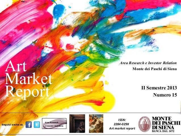 Art Market Report_15 gennaio 2014