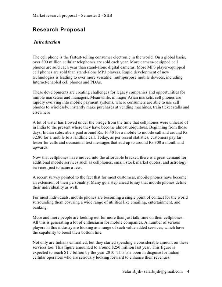 Gps research proposal