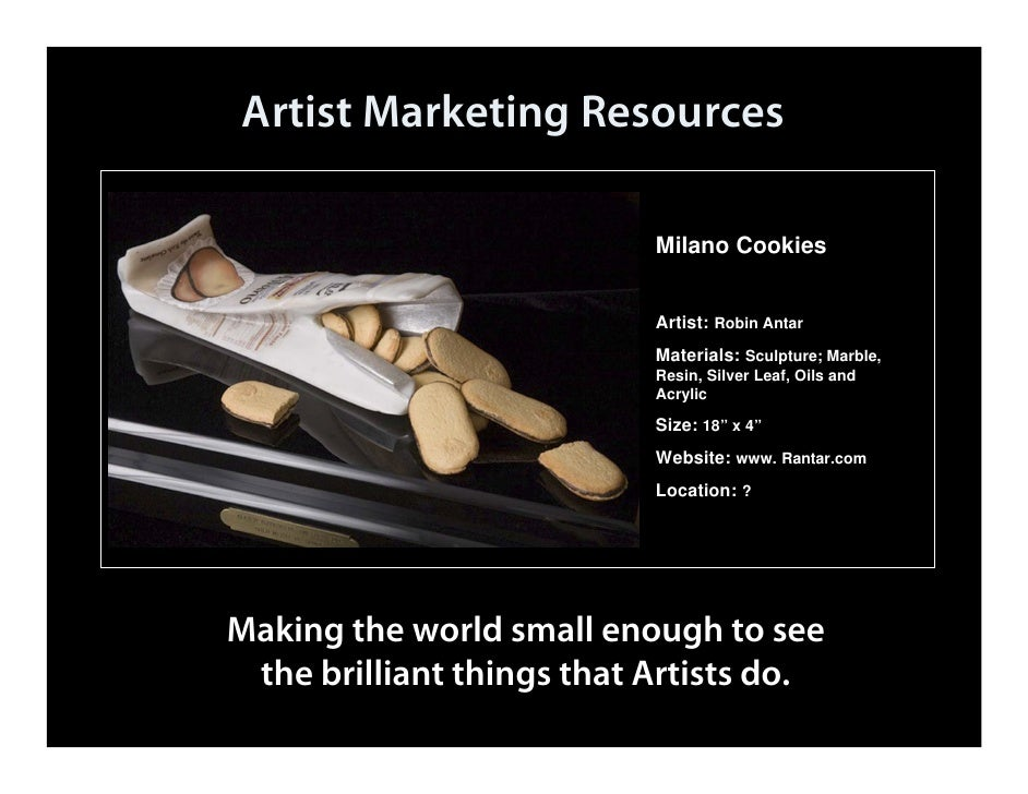 Artist Marketing Resources                            Artist Marketing Resources                                          ...