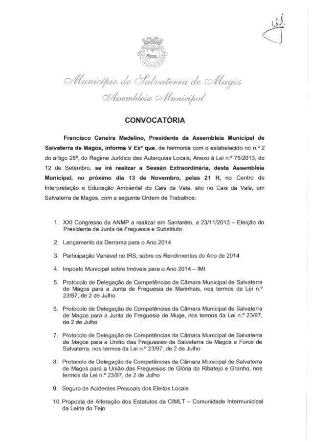 Assembleia Municipal de Salvaterra de Magos