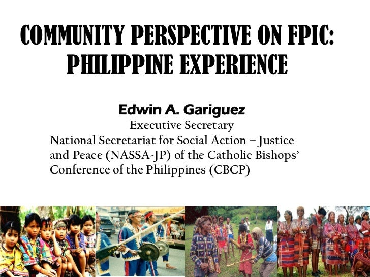Community Perspective on Free Prior and Informed Consent (FPIC)