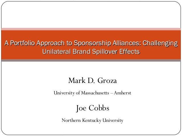 Challenging unilateral brand spillover effects in sponsorship portfolios