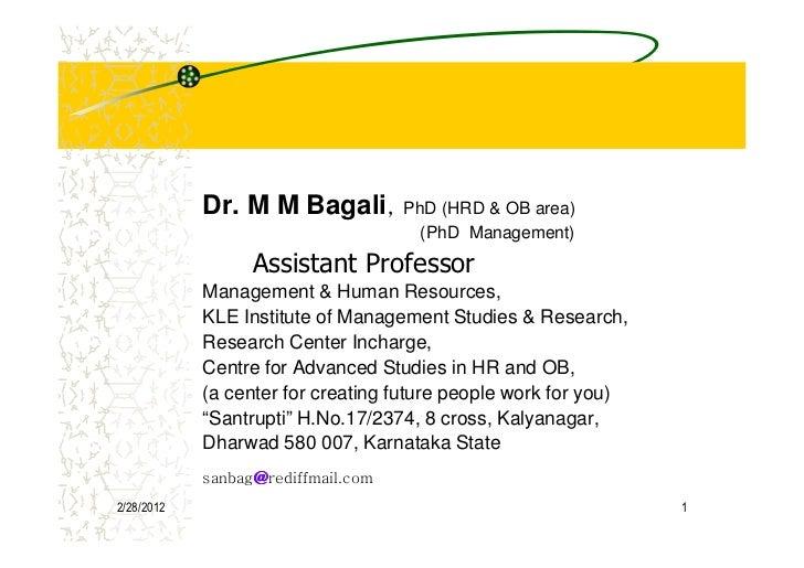 AMT AIMA Bagali MM HRD HRM Empowerment  [Compatibility Mode]