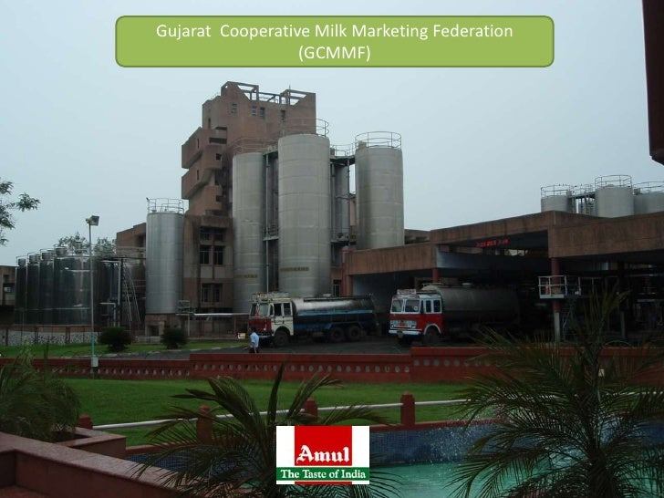 Gujarat  Cooperative Milk Marketing Federation (GCMMF)<br />