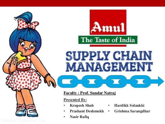 problems in scm of amul 5 business solution e-scm to amul's rescue •in order to address the  scalability and integration issues, amul started implementing a.