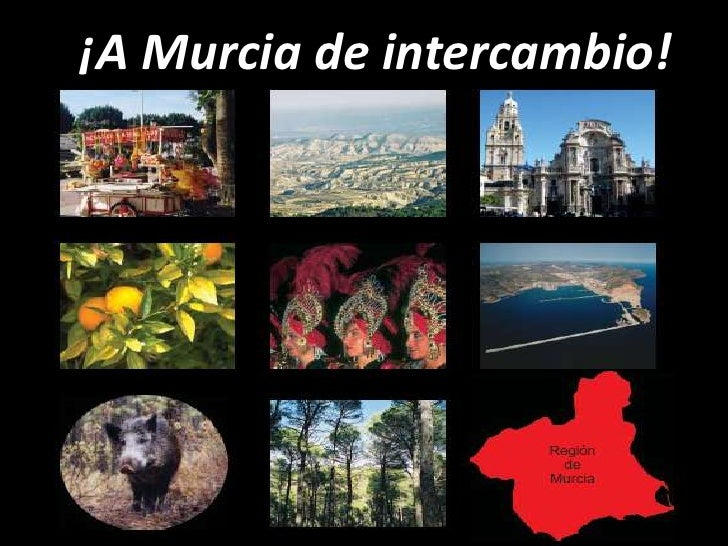 ¡A Murcia de intercambio!<br />
