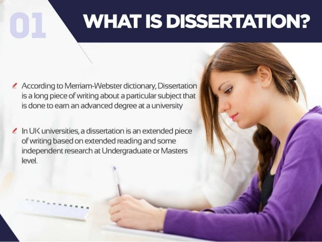 Guide to dissertation writing