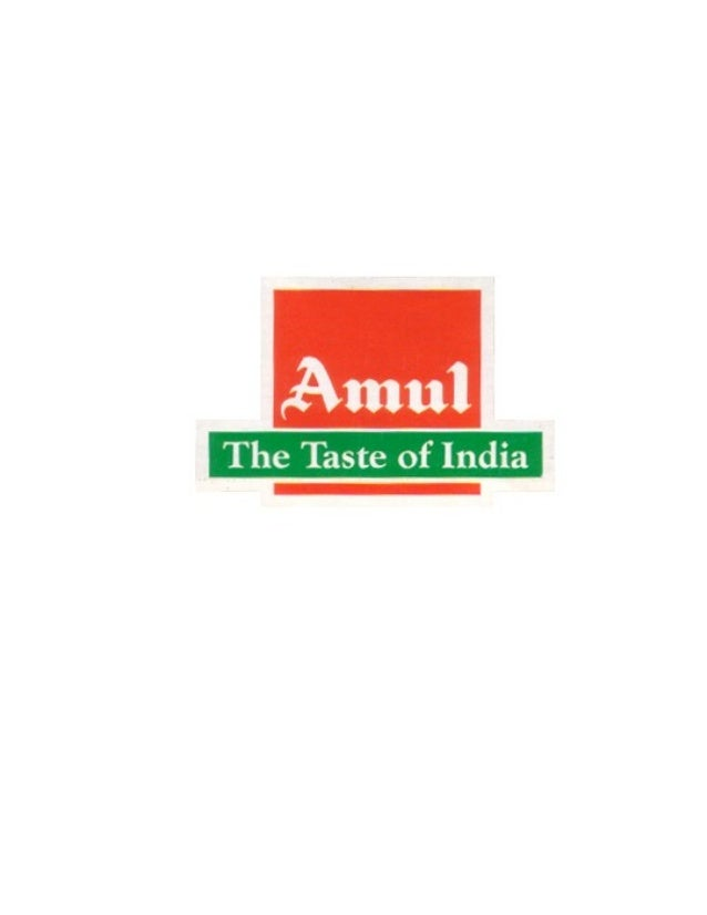 Amul Mithaimate Analysis Report