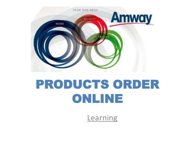 PRODUCTS ORDER    ONLINE     Learning