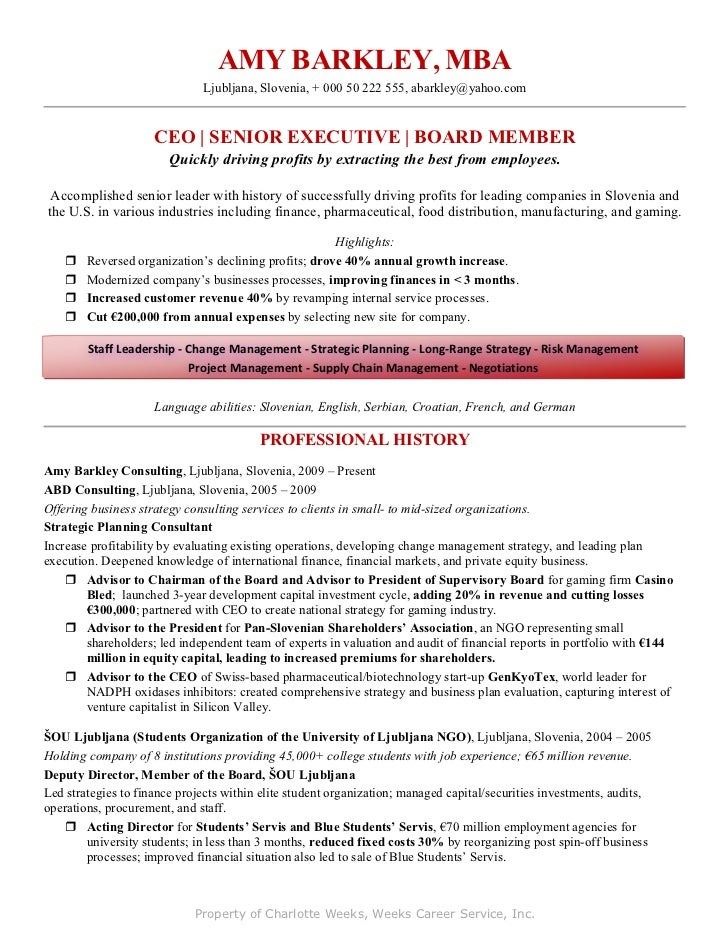 small business owner resume examples - Small Business Owner Resume