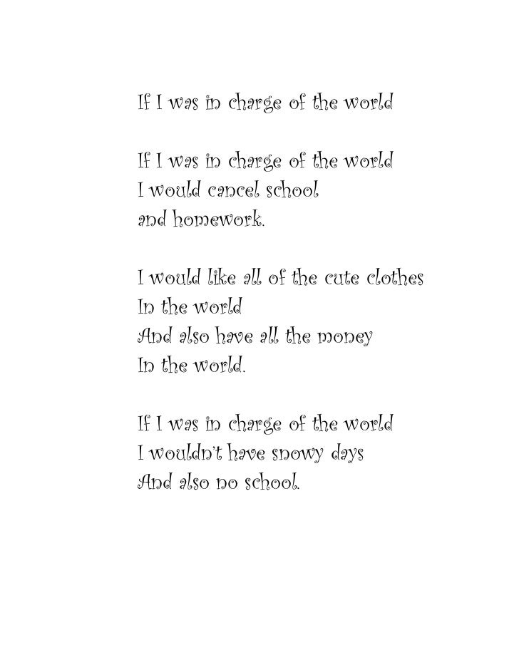Amys poem