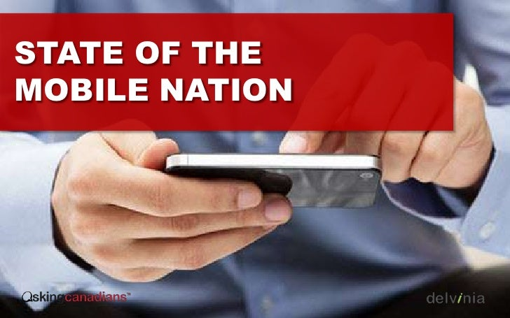 STATE OF THEMOBILE NATION