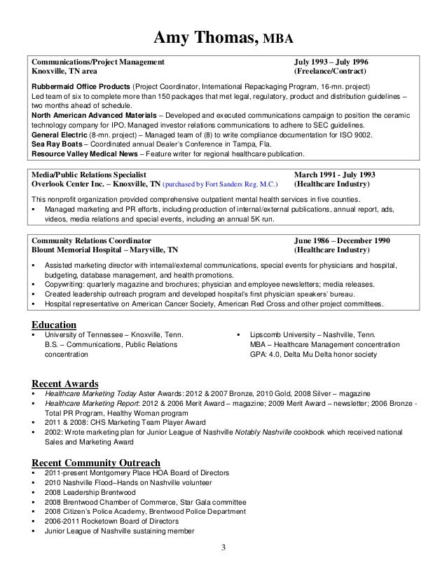 Contract compliance coordinator resume