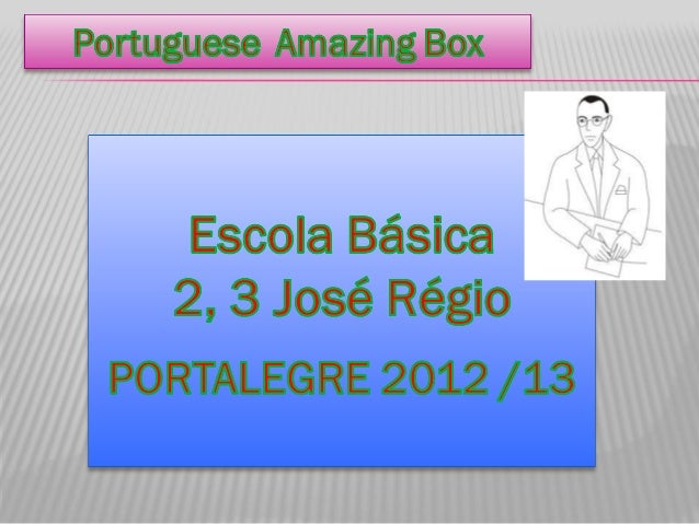 Amzing box portugal answers