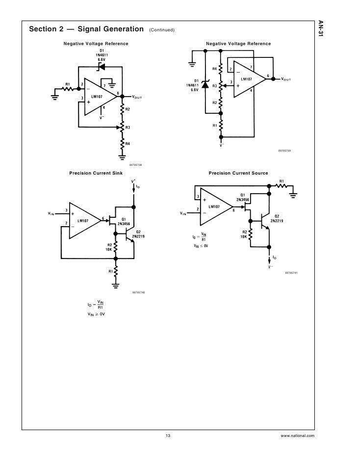 Negative Voltage Reference Negative Voltage Reference
