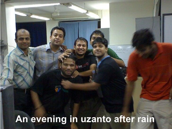 An Evening In Uzanto After Rain