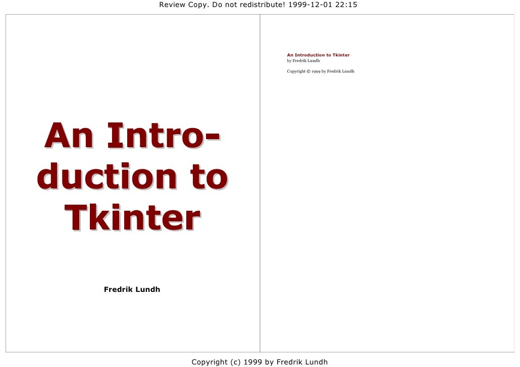 An introduction-to-tkinter