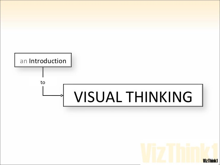 An Introduction to Visual Thinking