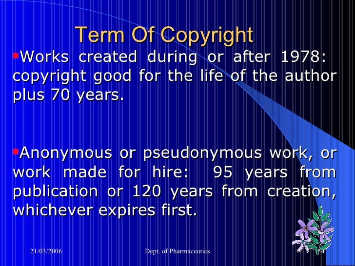 copyright laws for research papers