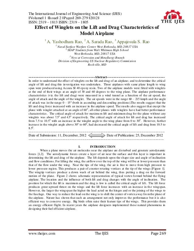 The International Journal of Engineering and Science (IJES)