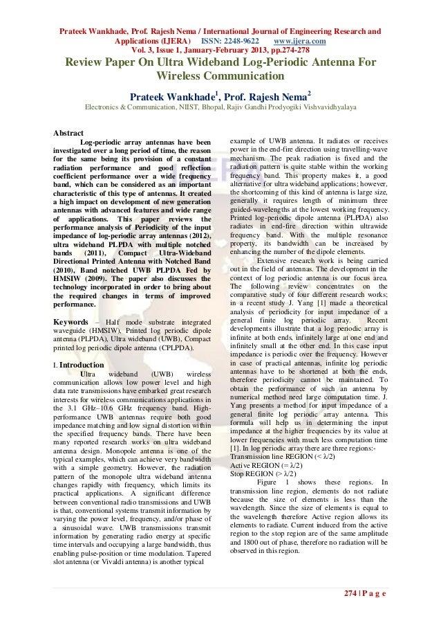 Prateek Wankhade, Prof. Rajesh Nema / International Journal of Engineering Research and               Applications (IJERA)...