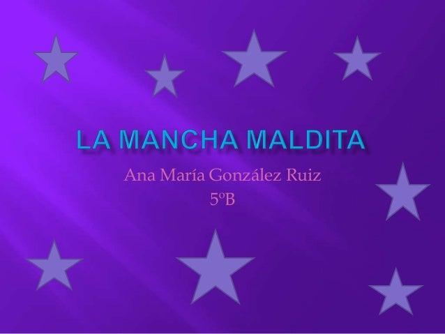 Ana María González 5ºB