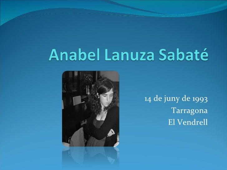 14 de juny de 1993 Tarragona El Vendrell