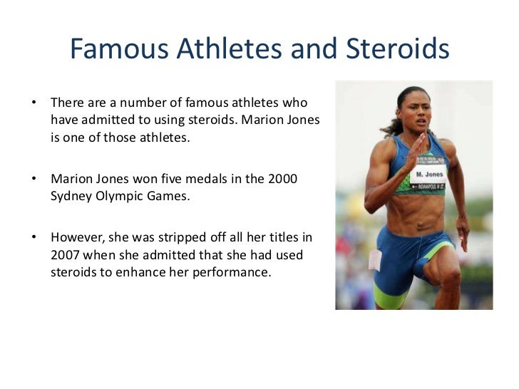 anabolic steroid use by athletes essay