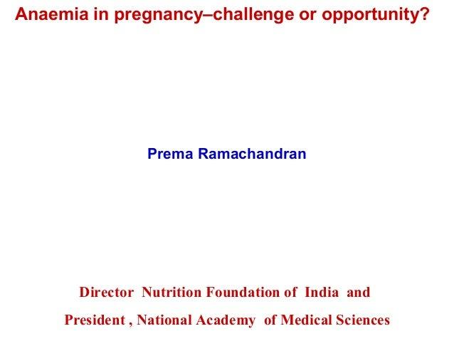 Anaemia in pregnancy (1)