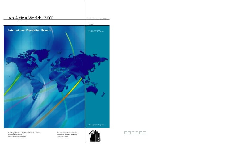 An Aging World: 2001                                                                     Issued November 2001             ...