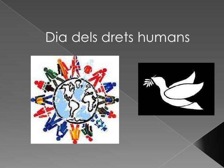 Dia dels drets humans <br />