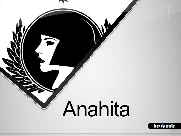 Anahita jd10 it