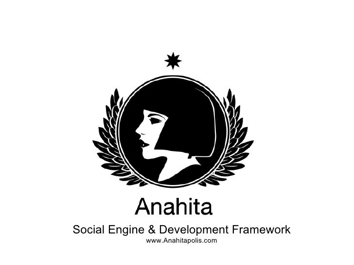 Anahita Social Engine - Vancouver Demo Camp Edition