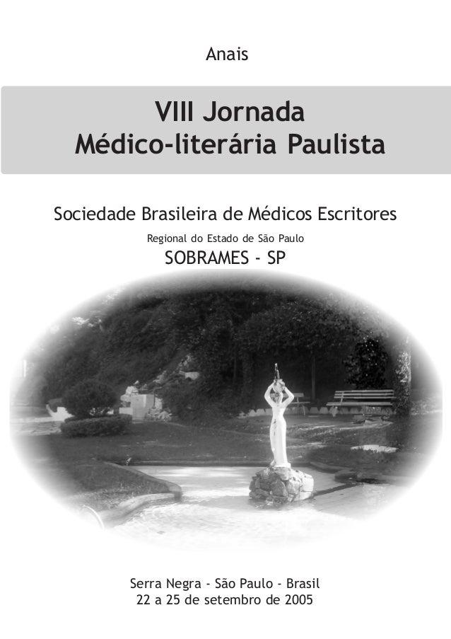 Anais   VIII Jornada - 2005