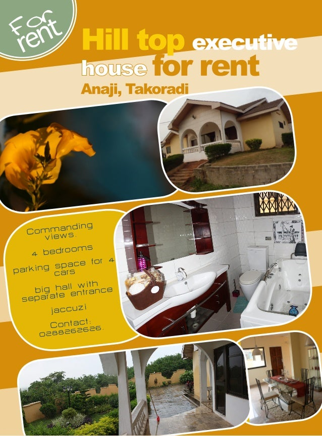 Excellent Renting opportunity in Takoradi, Ghana