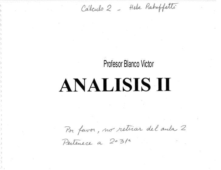Profesor Blanco Victor