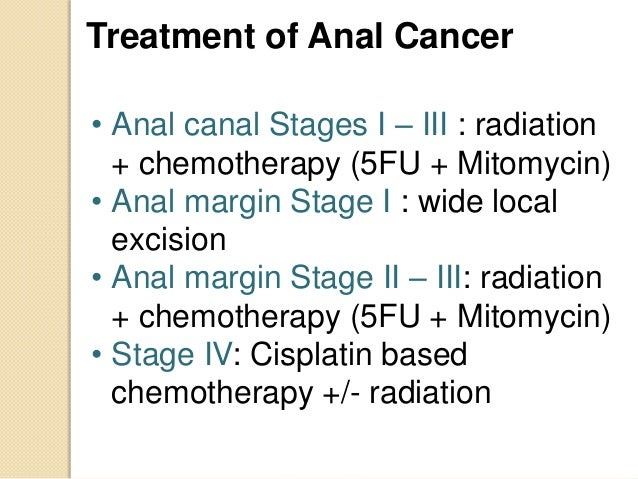 Can Treatment for anal cancer possess