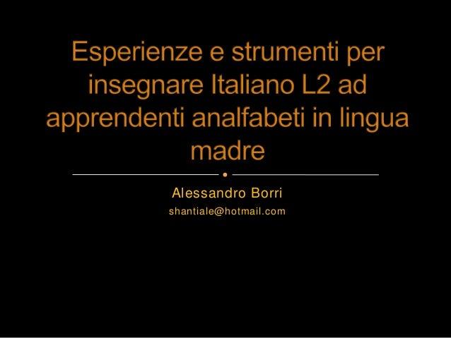 Alessandro Borrishantiale@hotmail.com