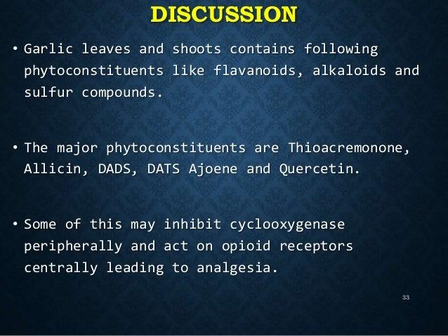 Garlic Tincture Side Effects