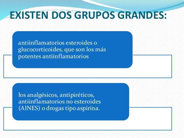 analgesicos antipireticos antiinflamatorios no esteroideos