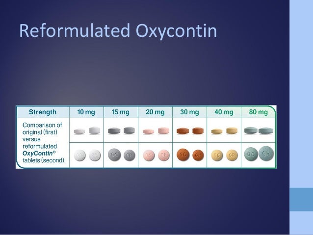 Oxycontin 15 mg